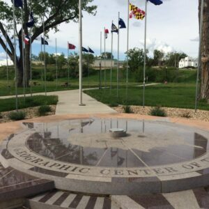 Geographic Center of the Nation Monument