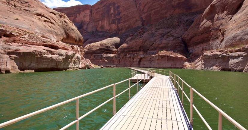 Rainbow Bridge water trail